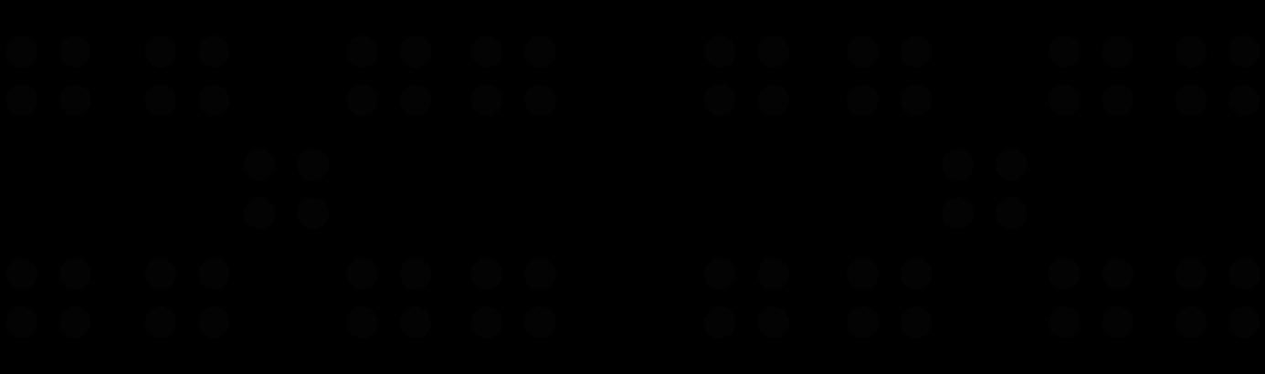 An arrangement of dots.