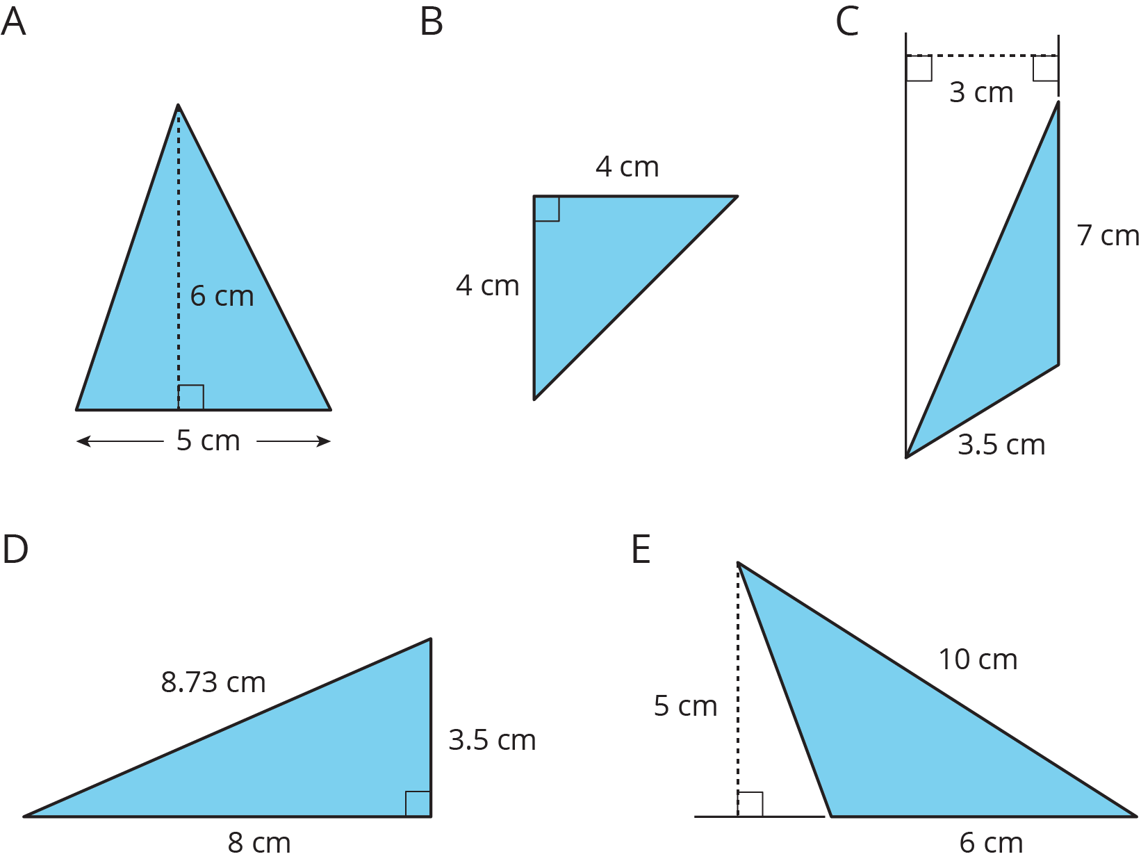Lesson 9: Formula for the Area of a Triangle