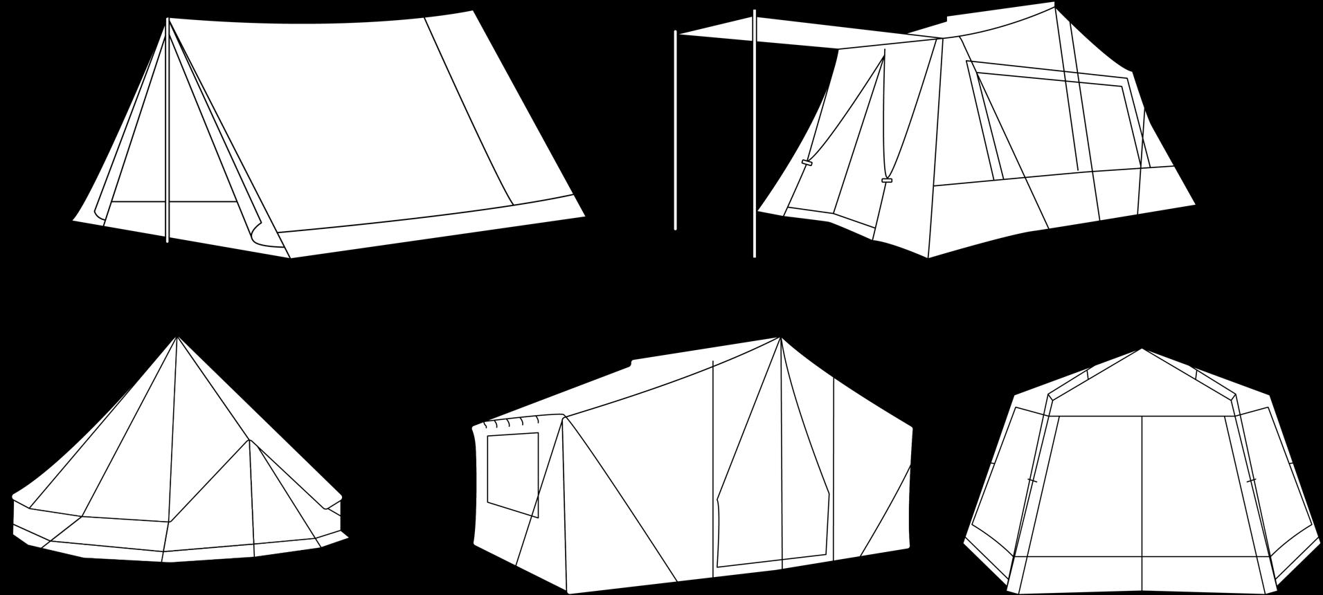 5 tent designs